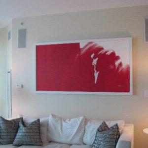 10 Figure Red Sonia (90x180cm)